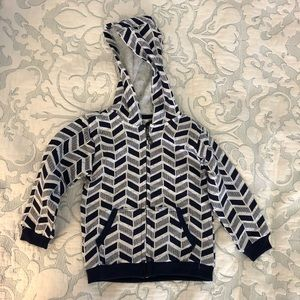Other - NWT PL kids white/navy hoodie 24m